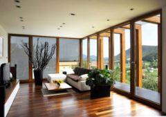 Montažne hiše Rihter - dnevna soba