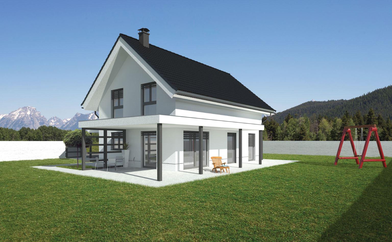 Klasične montažne hiše Rihter